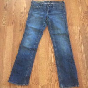 Jcrew jeans matchstick 29s 29 short
